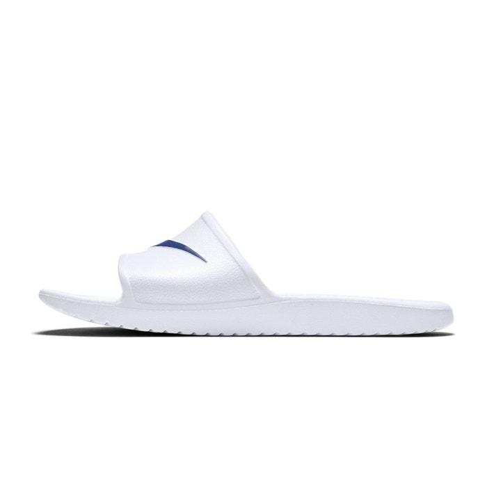Sandales nike kawa blanc blanc Nike