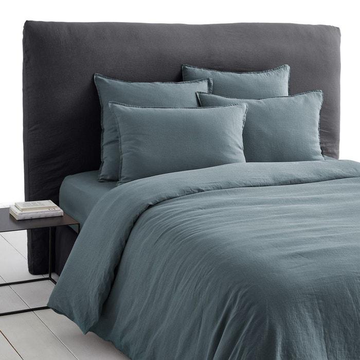 housse de couette lin lav elina am pm la redoute. Black Bedroom Furniture Sets. Home Design Ideas