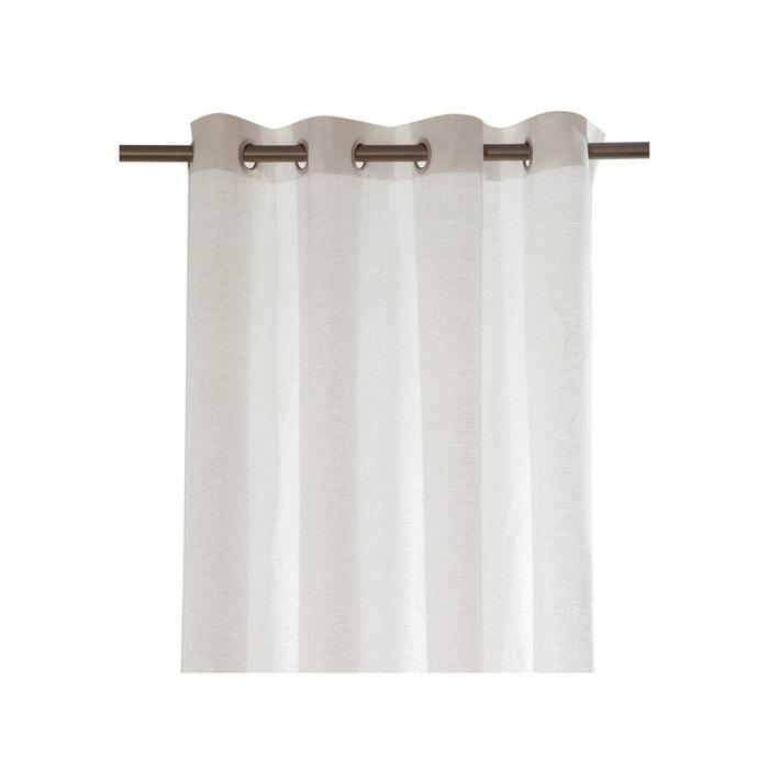 rideau pr t poser oxyde toiles de mayenne la redoute. Black Bedroom Furniture Sets. Home Design Ideas