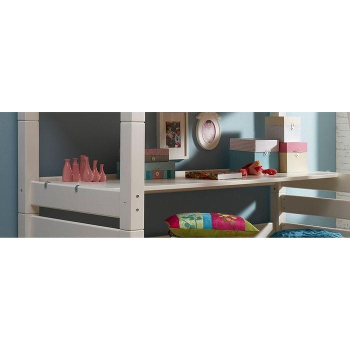 tablette bureau optionnelle 200x60 pour lit mezzanine. Black Bedroom Furniture Sets. Home Design Ideas