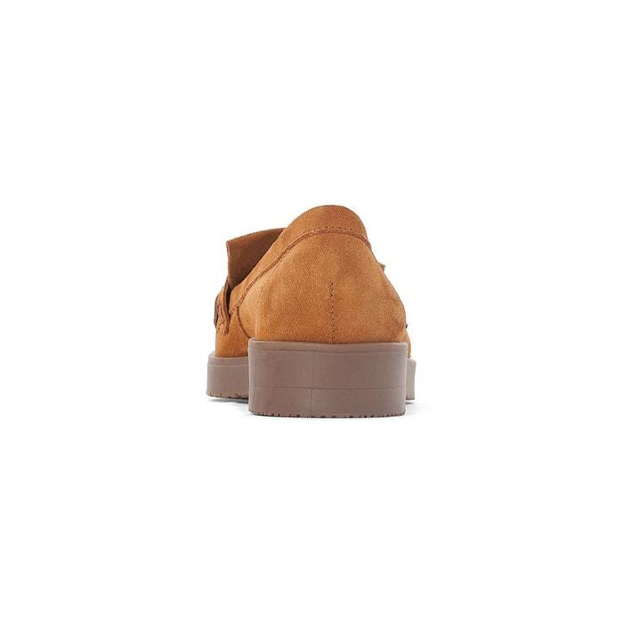 Mocassins cuir oska fringe Esprit