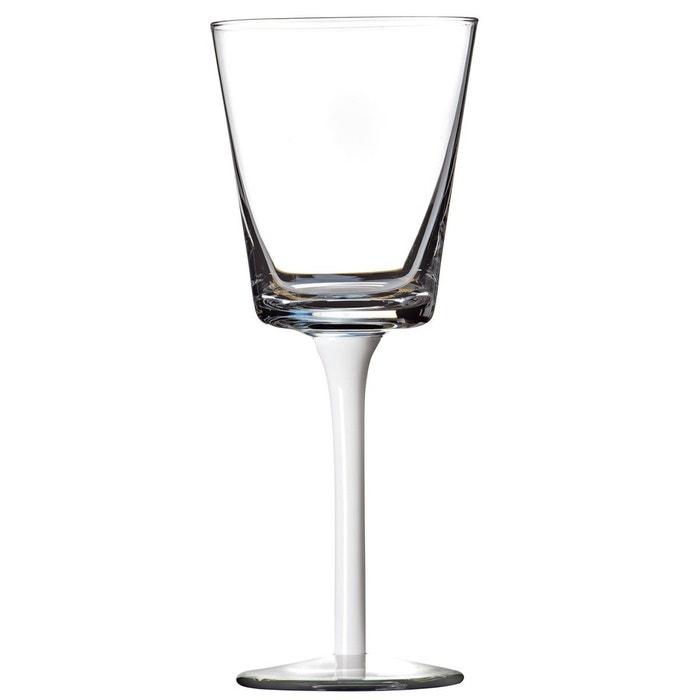 lot de 6 verre vin urban blanc sibo homeconcept la redoute. Black Bedroom Furniture Sets. Home Design Ideas