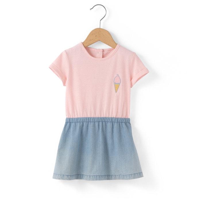 Imagen de Vestido de dos tejidos 1 mes - 3 años R mini