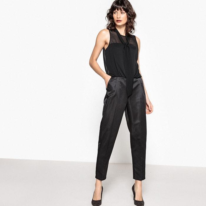 Combinaison pantalon bi-matière MADEMOISELLE R