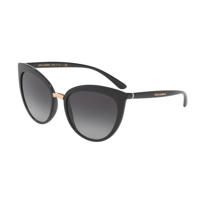 f1fbafbd59ddab Lunettes de soleil dg6113 noir Dolce Gabbana   La Redoute
