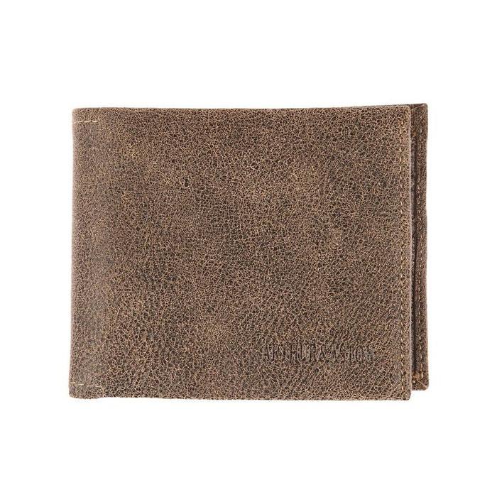 Portefeuille italien à 3 volets en cuir souple à surpiqûres cuir marron Arthur Et Aston | La Redoute Acheter Choix Pas Cher 9vdrSnegF