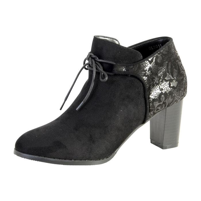 Chaussure derby noir  noir Enza Nucci  La Redoute