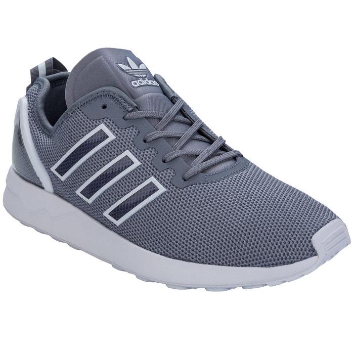 Baskets zx flux racer gris Adidas Originals   La Redoute d104188b6e47