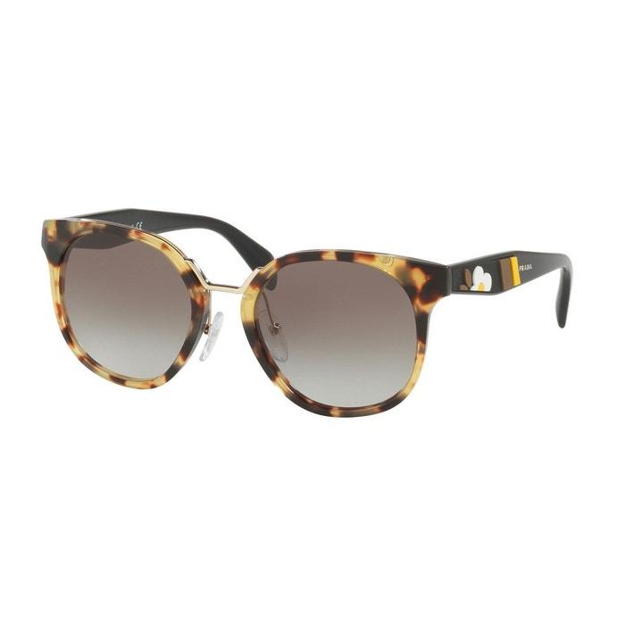 Eastbay Vente Pas Cher Style De Mode Rabais Lunettes de soleil pr 17ts marron glacé Prada | La Redoute Livraison Gratuite Exclusive o9njOUu