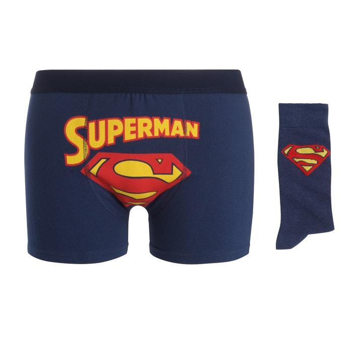 Image Coffret boxer et chaussettes en coffret SUPERMAN SUPERMAN