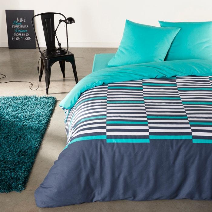 фото Комплект постельного белья, 100% хлопка, Irregular Stripes La Redoute Interieurs