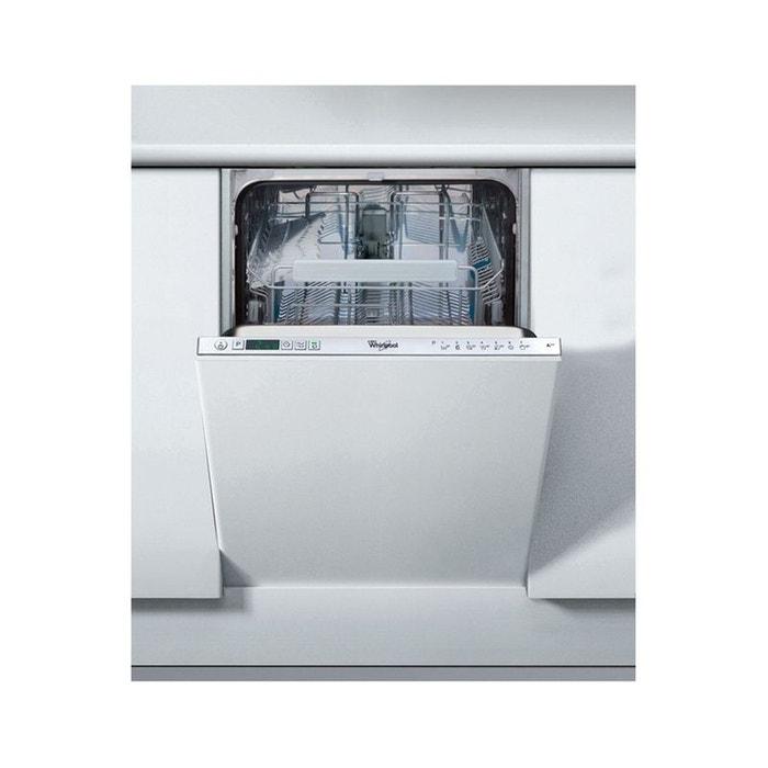 lave vaisselle encastrable adg402 tout int grable whirlpool la redoute. Black Bedroom Furniture Sets. Home Design Ideas