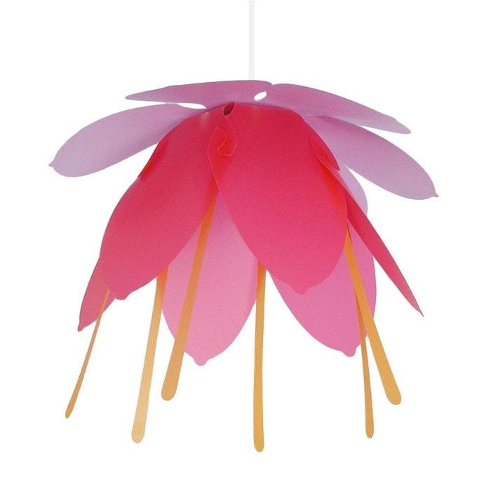 lampe suspension enfant grande fleur lilas et fushia rose r et m coudert la redoute. Black Bedroom Furniture Sets. Home Design Ideas