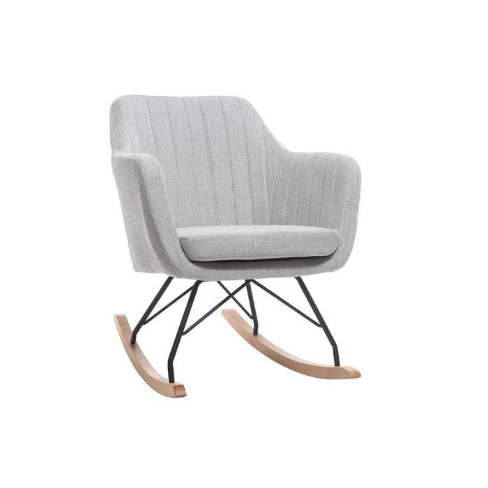 fauteuil rocking chair scandinave aleyna miliboo la redoute. Black Bedroom Furniture Sets. Home Design Ideas