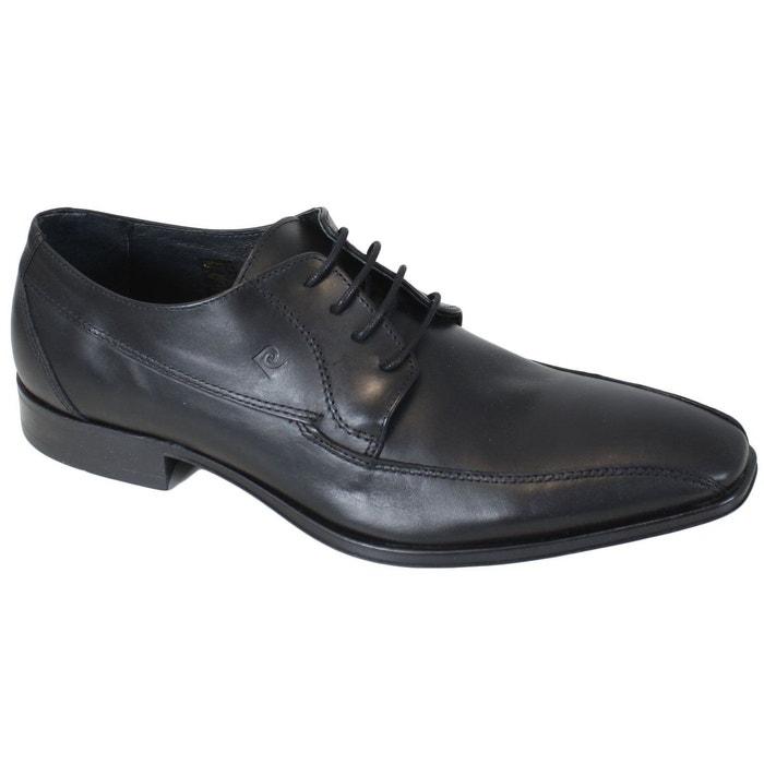 Chaussures pierre cardin en cuir bindi noir Pierre Cardin