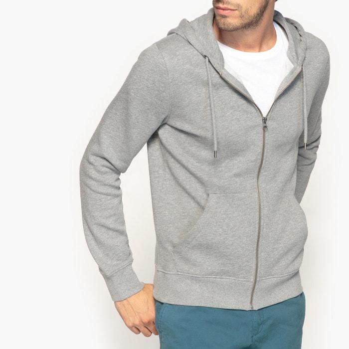 afbeelding Sweater met rits en kap R édition