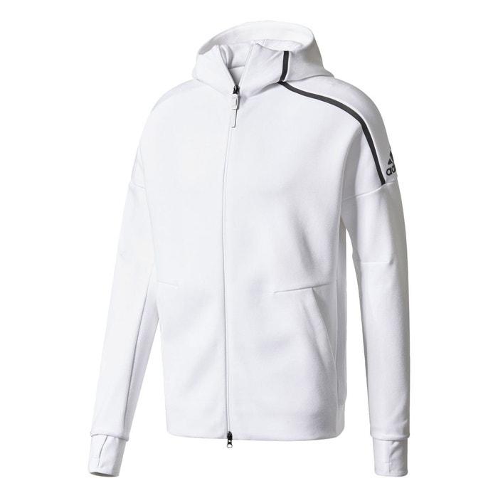 veste adidas blanche homme