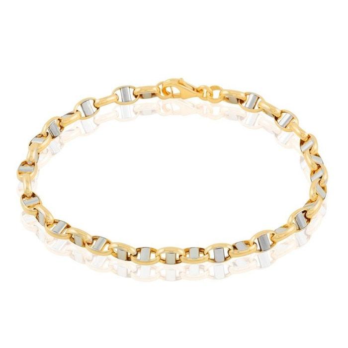 Bracelet or bicolore Histoire D'or | La Redoute Autorisation De Vente LhsNoZO6M
