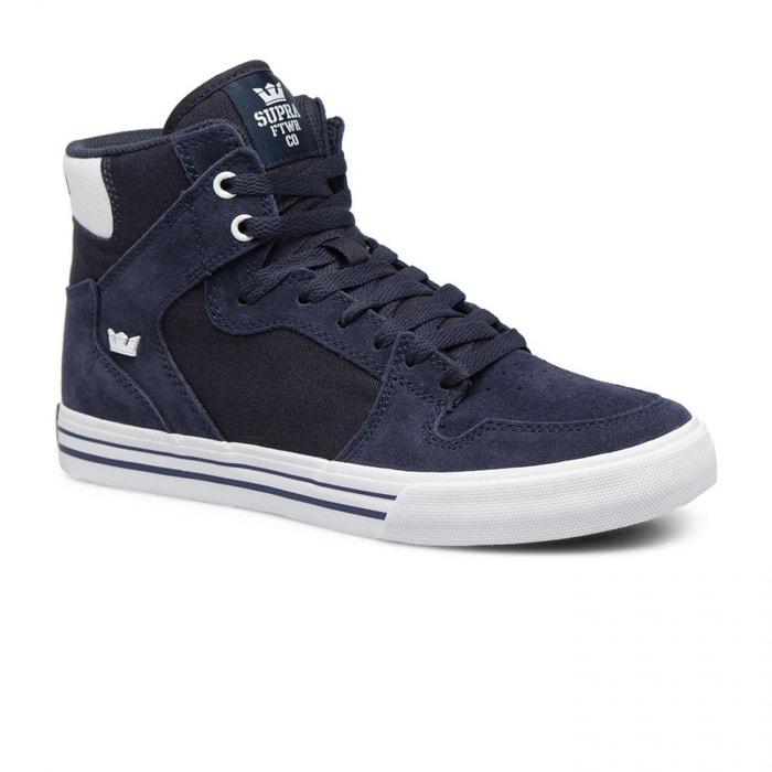 Chaussures vaider navy-white bleu Supra