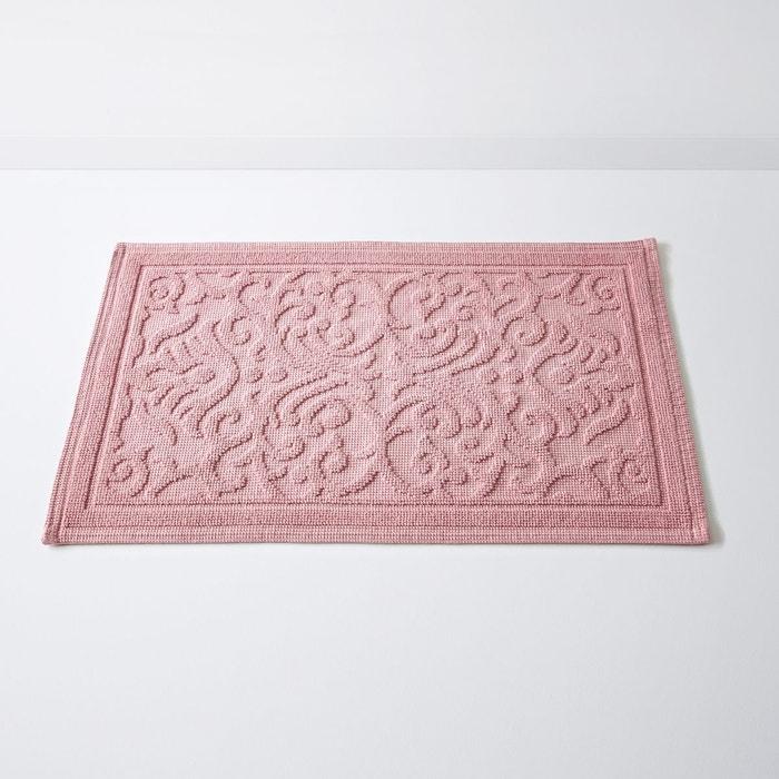 tapis de bain damask motif en relief coton 150 la. Black Bedroom Furniture Sets. Home Design Ideas