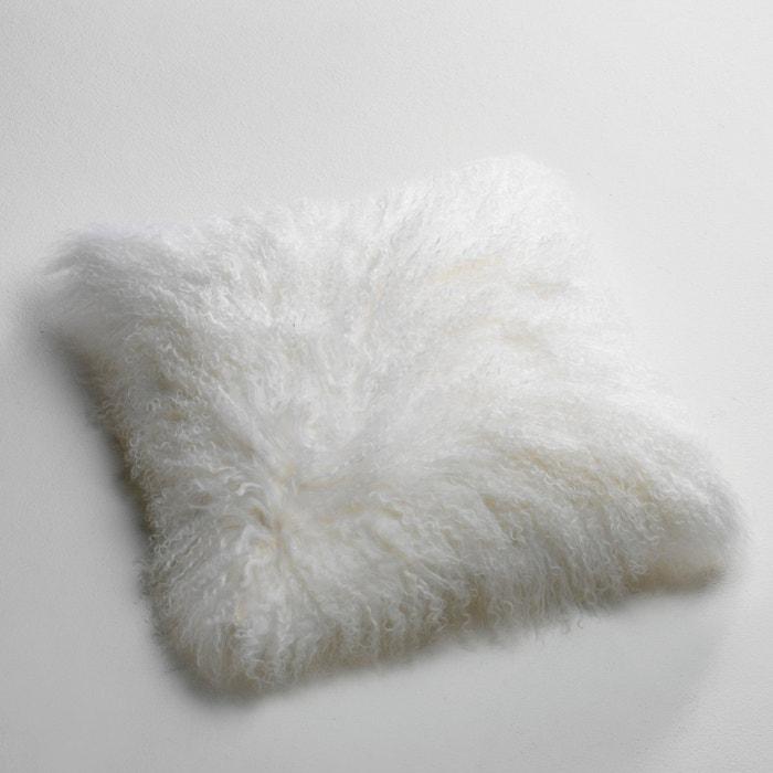 afbeelding Kussenhoes in wol van Mongolië, Osia La Redoute Interieurs