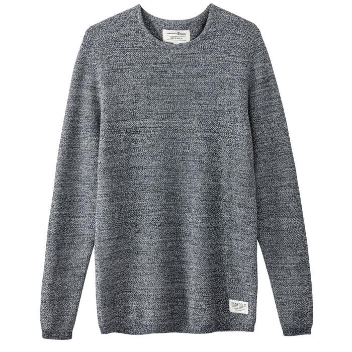 Image Bawełniany sweter z dzianiny mulinowej TOM TAILOR