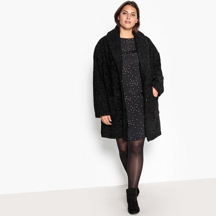 56b559026e1db Faux Fur Coat - CASTALUNA PLUS SIZE