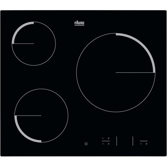 plaques vitroceramiques fev 6330 fba couleur unique faure la redoute. Black Bedroom Furniture Sets. Home Design Ideas