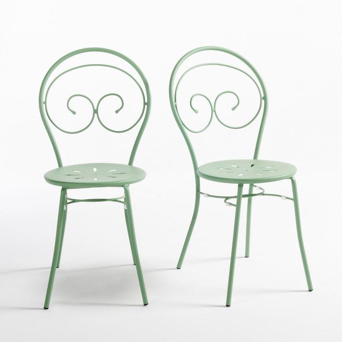 Image Chaise en fer forgé, Mimmo La Redoute Interieurs