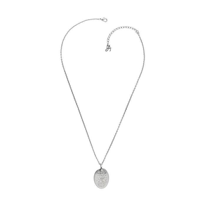 Collier adore allure en métal argenté blanc Adore | La Redoute