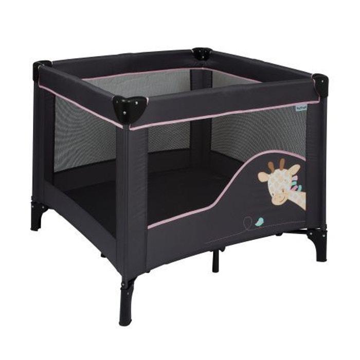 parc nattou collection 39 charlotte et rose 39 gris couleur unique nattou la redoute. Black Bedroom Furniture Sets. Home Design Ideas