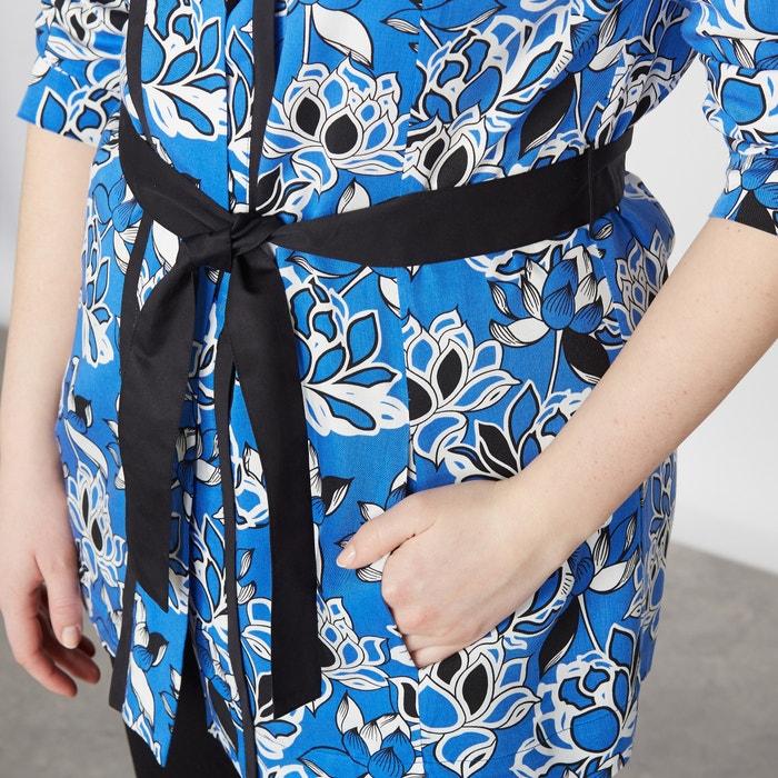 de estilo Chaqueta con flores motivos kimono TAILLISSIME FOqxX1