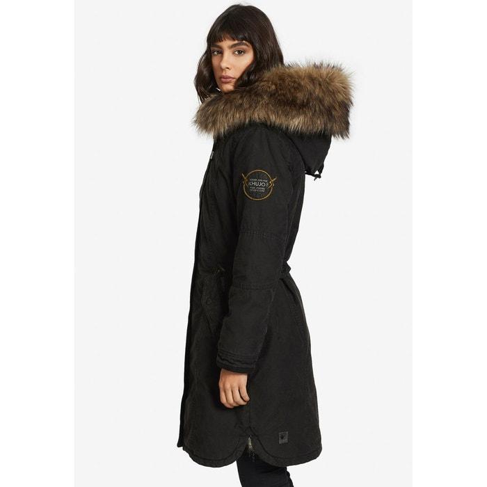 Manteau avec gilet amovible MERYEM2 SOLID