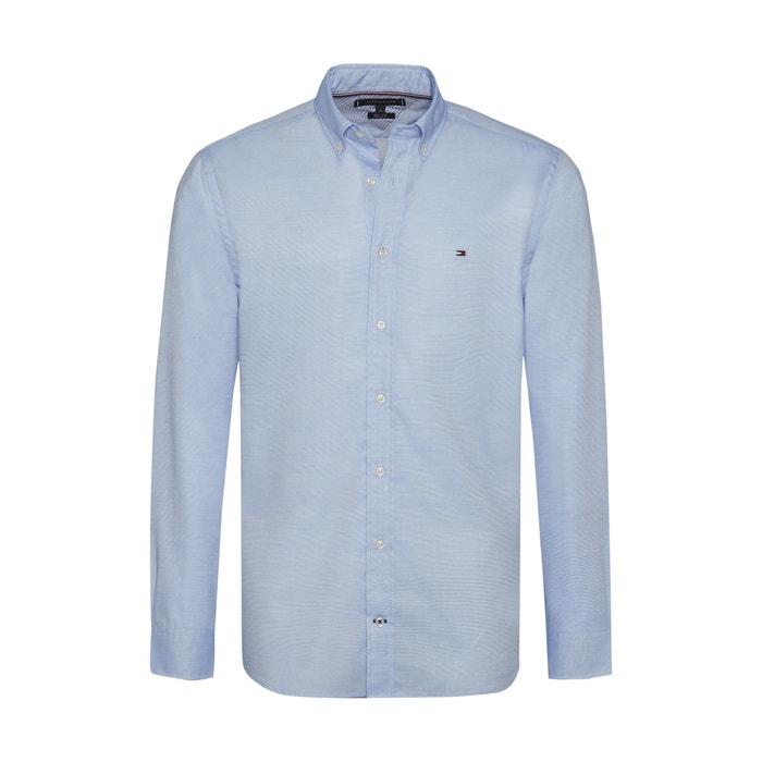 8caac7f81e97b Recht hemd lichtblauw Tommy Hilfiger