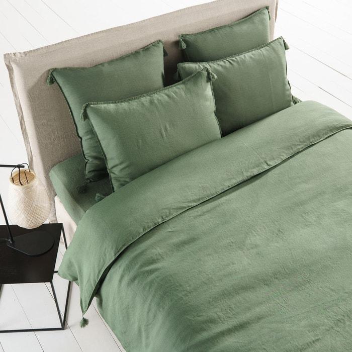 housse de couette en lin lav carly am pm la redoute. Black Bedroom Furniture Sets. Home Design Ideas