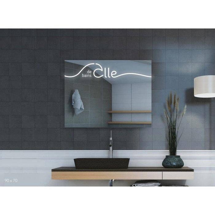 Miroir led, salle de bains iii 70h x 120l cm Pradel | La Redoute