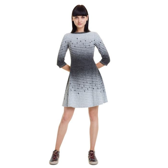 Vestido Corto Miriam Corto Tipo Patinadora De Manga 34