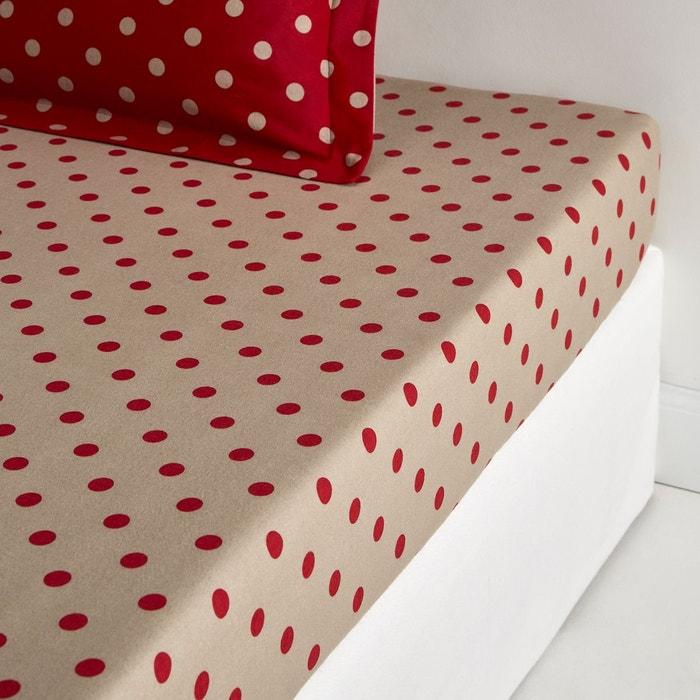 drap housse flanelle clarisse la redoute interieurs la redoute. Black Bedroom Furniture Sets. Home Design Ideas