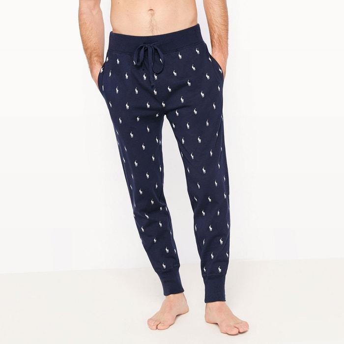 pantalon de pyjama imprim logo polo ralph lauren la redoute. Black Bedroom Furniture Sets. Home Design Ideas