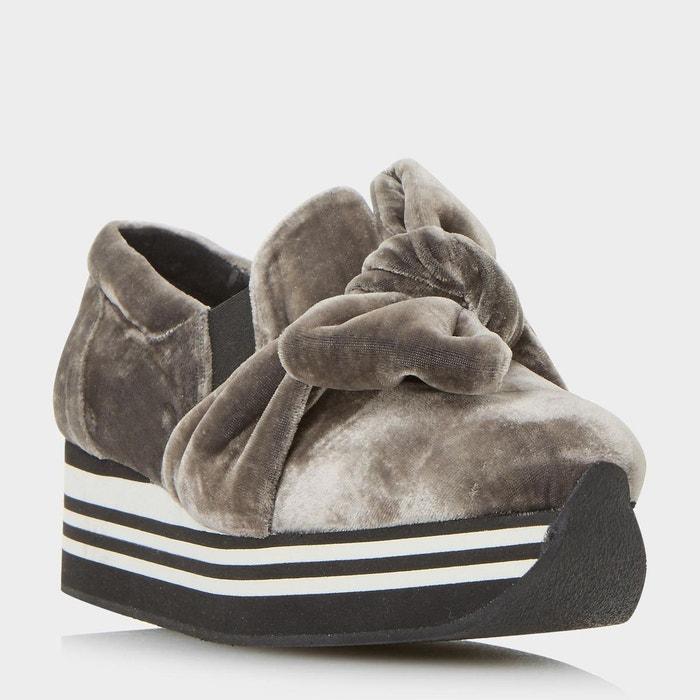 Chaussures à plateformes à enfiler avec n-ud - euphoria Dune Black La  Redoute GH8HUA1Z - destrainspourtous.fr 5eb8bbf2c65e