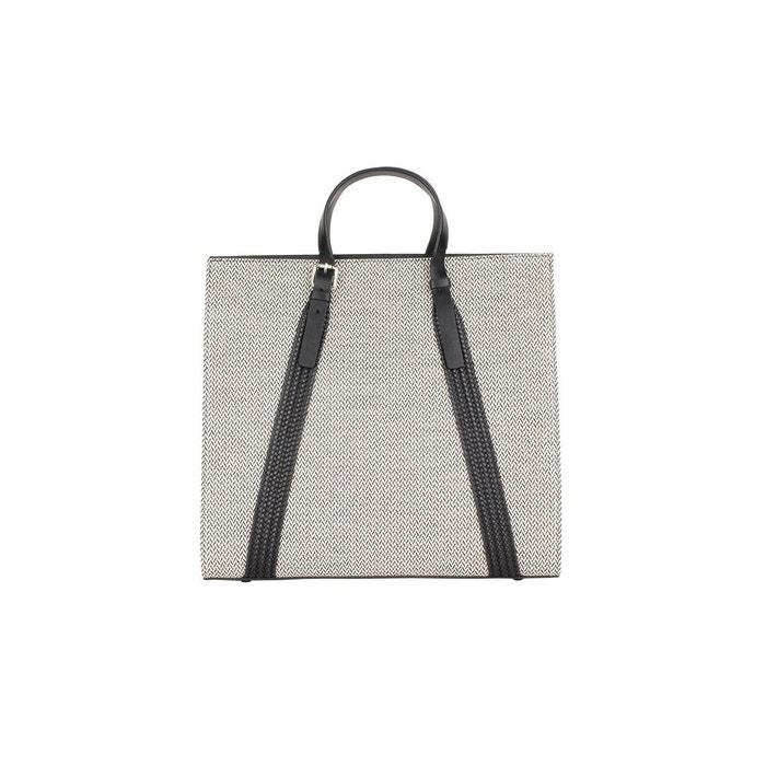 Cabas en cotton et cuir gris foncé L'aiglon | La Redoute La Sortie Exclusive XfHZK3