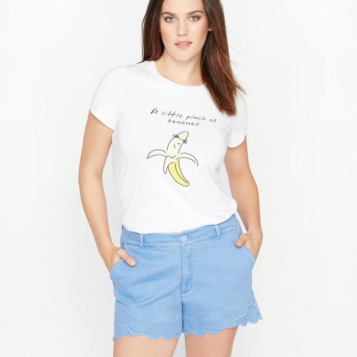 Image T-shirt fantasia con maniche corte CASTALUNA