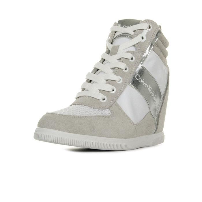 Calvin Klein Beth White Silver 5  Noir (BKW)  37 EU  Grau (DK GREYC9002) 6FIACcc