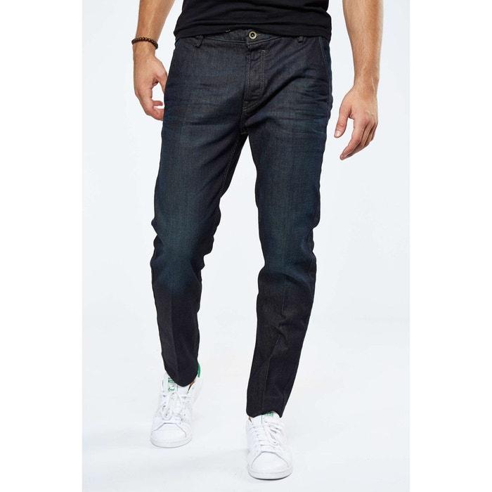 pantalon chino diesel slim brut homme bleu diesel la redoute. Black Bedroom Furniture Sets. Home Design Ideas