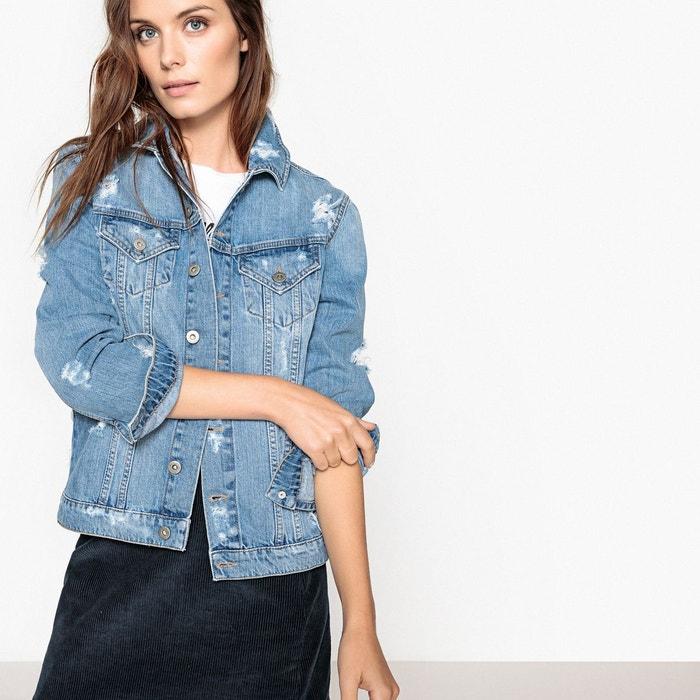 Veste en jean boyfriend, ample La Redoute Collections