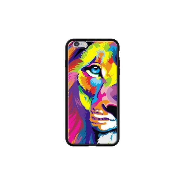 coque iphone 6 plus multicolore
