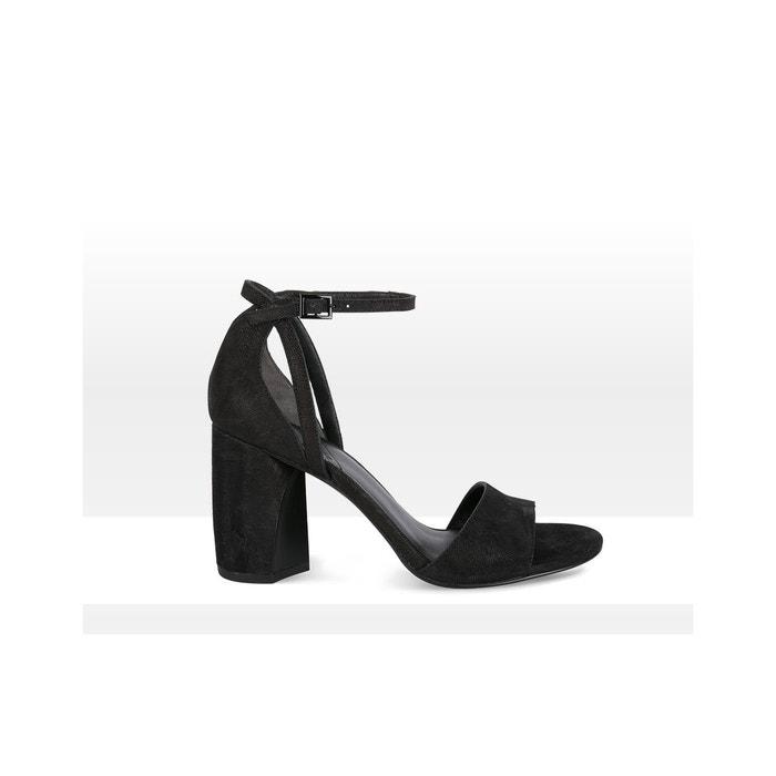 Sandales- Lucca What For en noir pour femme