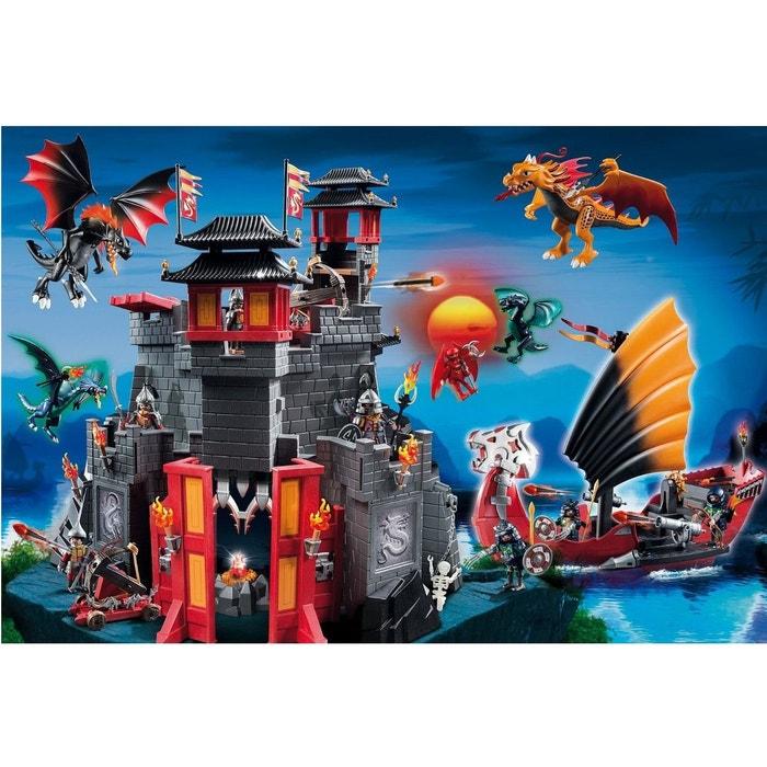Puzzle 100 pi ces playmobil au pays des dragons couleur unique schmidt - La redoute playmobil ...