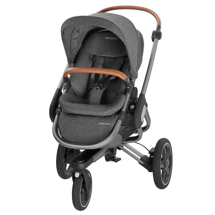 poussette nova 3 roues sparkling grey gris bebe confort la redoute. Black Bedroom Furniture Sets. Home Design Ideas