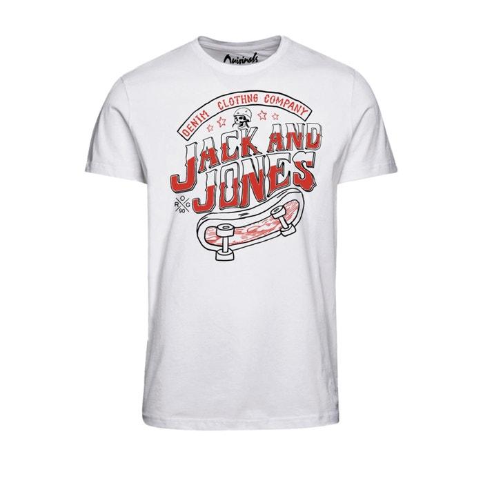Image Tee shirt col rond JACK & JONES